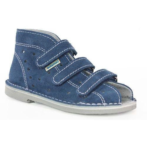 e03b4e07 Adamki Buty profilaktyczne wzór 012, kolor jeans/biały 84,00 zł Buciki  profilaktyczne dla dzieci producenta AR z linii ADAMKI produkowane ze skóry  welurowo- ...