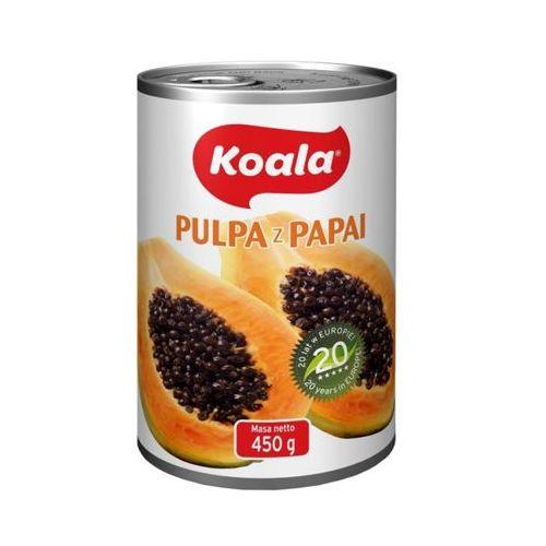 KOALA 450g Pulpa z papai