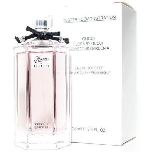 Gucci flora by gucci gorgeous gardenia, woda toaletowa – tester, 100ml