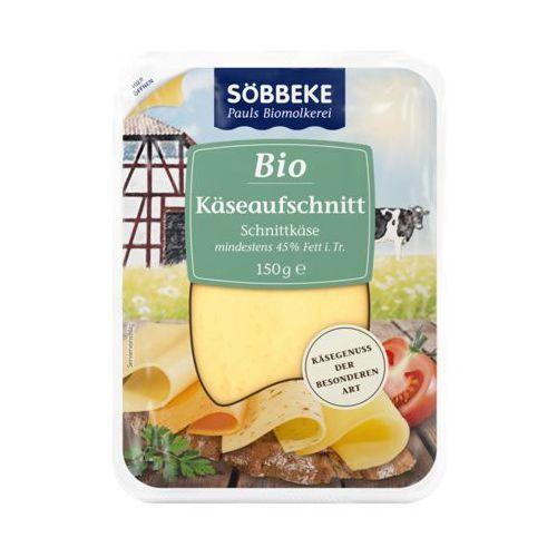 Sobbeke Mix serów w plastrach 45% tłuszczu bio 150 g - (4008471511441)