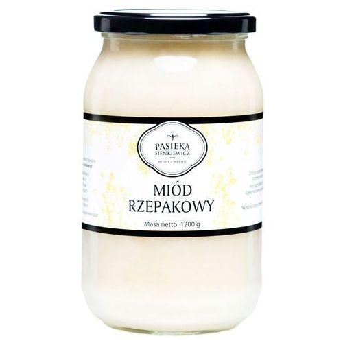 Miód rzepakowy 1,2kg – naturalnie regeneruje organizm marki Sienkiewicz-pasieka