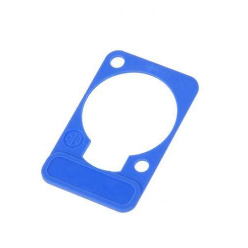 Neutrik dss 6 szyld do opisu złącz tablicowych typu ″d″ (niebieski)