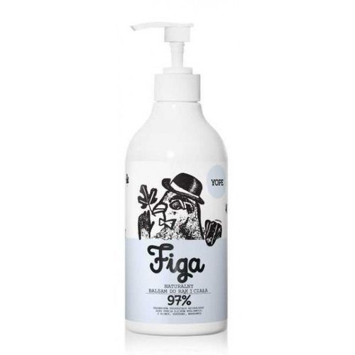 YOPE_Naturalny regenerujący balsam do rąk i ciała Figa 300ml