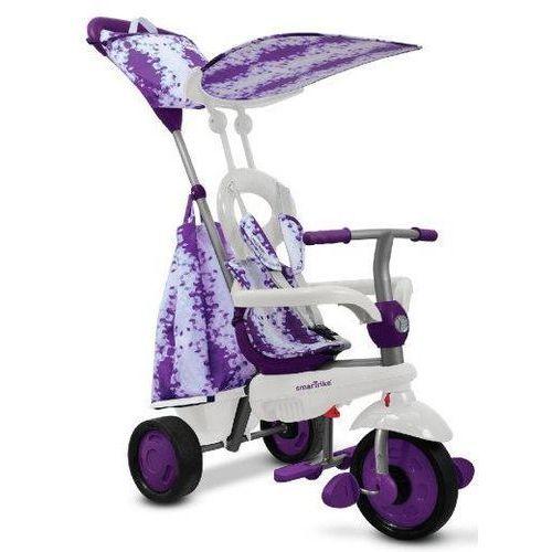 Trójkołowiec touch steering spirit 4 w 1 fioletowy + zamów z dostawą jutro! + darmowy transport! marki Smart trike