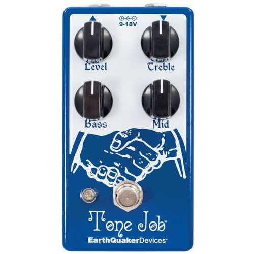 tone job v2 - eq & boost efekt do gitary elektrycznej marki Earthquaker devices
