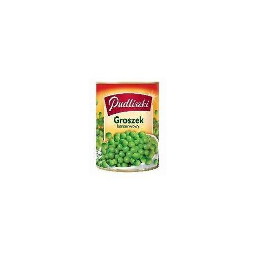 Pudliszki Groszek konserwowy zielony i soczysty 400 g (5900783000028)
