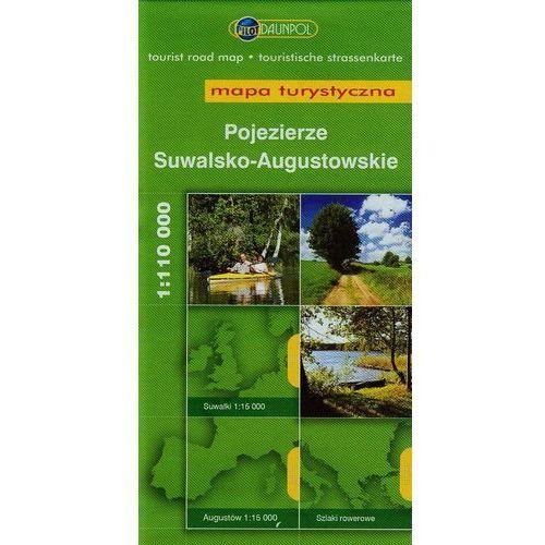 Pojezierze Suwalsko- Augustowskie. Mapa turystyczna w skali 1:110 000 (2012)