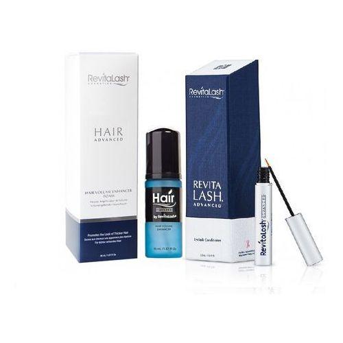 Revitalash zestaw | hair advanced 46ml + eyelash conditioner advanced 3,5ml
