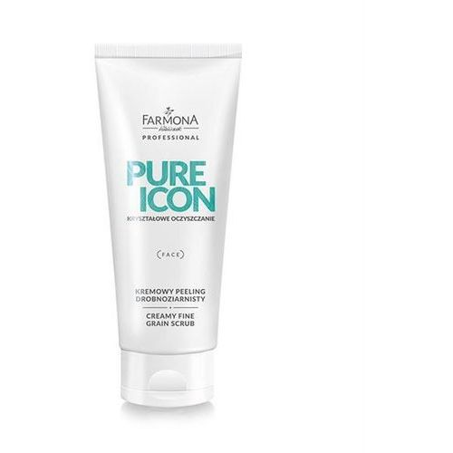 FARMONA PURE ICON Kremowy Peeling Drobnoziarnisty do twarzy 200ml