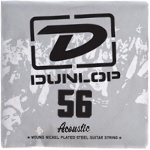 single string acoustic 80-20 056, struna pojedyncza marki Dunlop