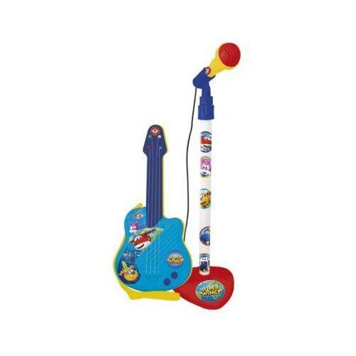 Super Wings Mikrofon i gitara - DARMOWA DOSTAWA OD 199 ZŁ!!! (8411865021109)