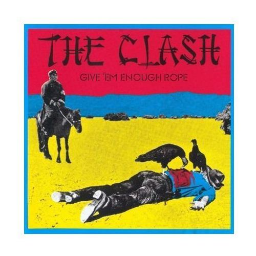 Sony music The clash - give 'em enough rope (cd) (5099749534629)