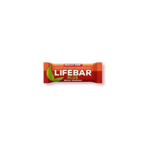 Baton z Orzechami Brazylijskimi i Guaraną RAW BIO 47 g Lifefood