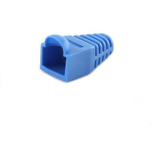Osłonka na wtyk rj-45 bt5bl/5, niebieska (opakowanie 100 szt.) marki Gembird