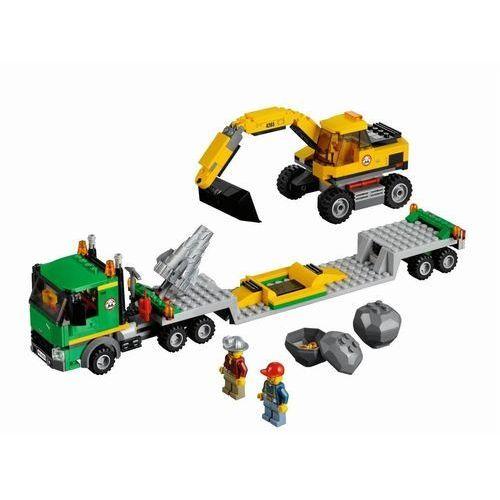 Lego City KOPARKA Z TRANSPORTEREM 4203 z kategorii: klocki dla dzieci