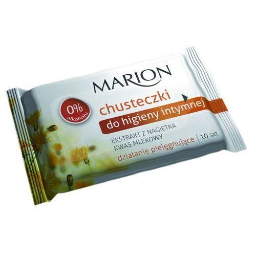 MARION 10szt Chusteczki do higieny intymnej z nagietkiem
