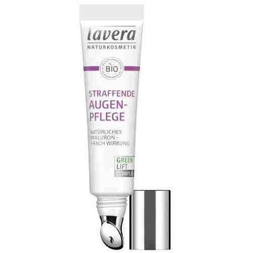 Lavera Naturalny lifting okolic oczu - naturalny kwas hialuronowy & olej karanja - 15ml (4021457624898)