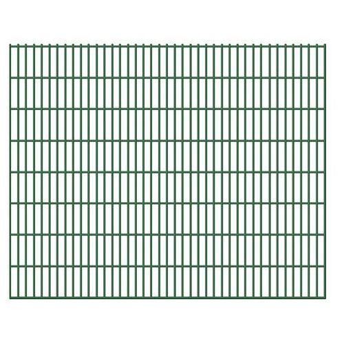 vidaXL Ogrodzenie panelowe siatka 6/5/6 mm, 163 cm x 40 m, 20 szt. (przęsło i element ogrodzenia)