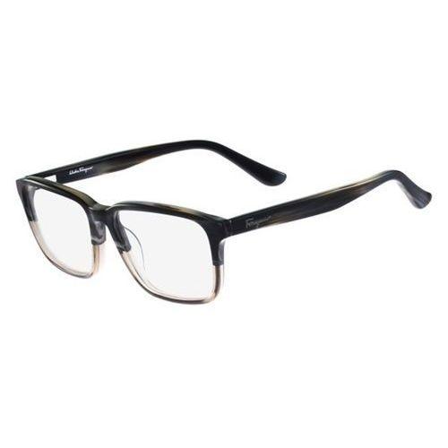 Salvatore ferragamo Okulary korekcyjne sf 2738 466