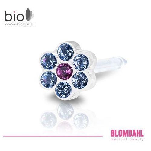 Blomdahl Kolczyk do przekłuwania uszu - daisy alexandrite / rose 5 mm