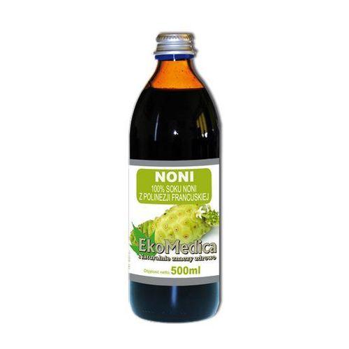 Eka Medica Noni 100% sok z polinezji francuskiej 1000ml, EKO MEDICA