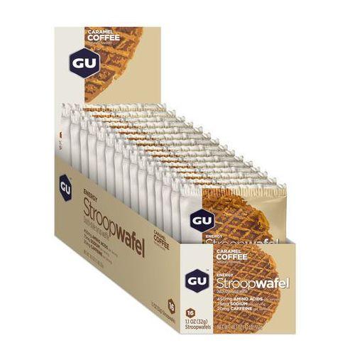 Gu energy stroopwafel żywność dla sportowców caramel coffee 16 x 30g 2018 zestawy i multipaki