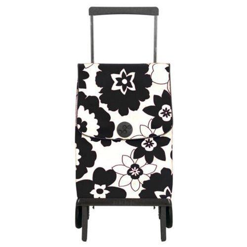 Wózek na zakupy Rolser PLEGAMATIC Orbita Flor Blanco/Negro (wózek na zakupy)