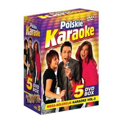 Polskie Karaoke VOL. 5 - Mega Kolekcja Karaoke (5 płyt DVD) (5902143784050)