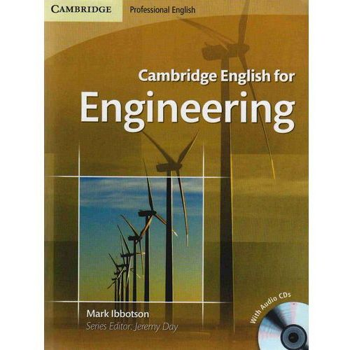 Cambridge English For Engineering + Cd, Cambridge University Press