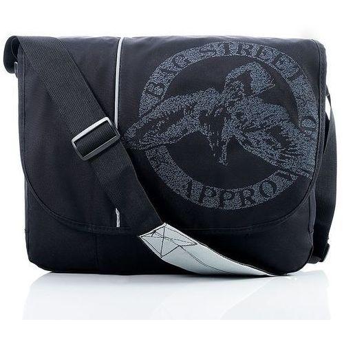 1e6c331bd4841 Bag street Lekka torba męska listonoszka na laptopa czarna 89