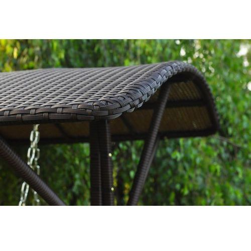 Huśtawka ogrodowa SWING kolor brązowy - produkt dostępny w Bemondi.pl