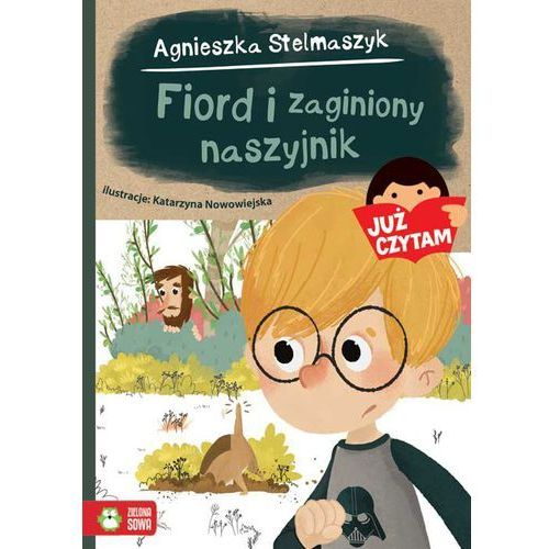 Fiord i zaginony naszyjnik Już czytam!, oprawa miękka