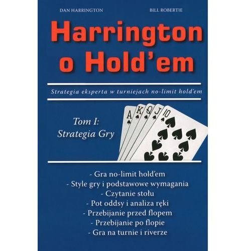 Książka Harrington o Hold`em Tom 1, 19.02.002.00