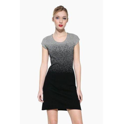 heather sukienka dzianinowa black, Desigual, 34-42