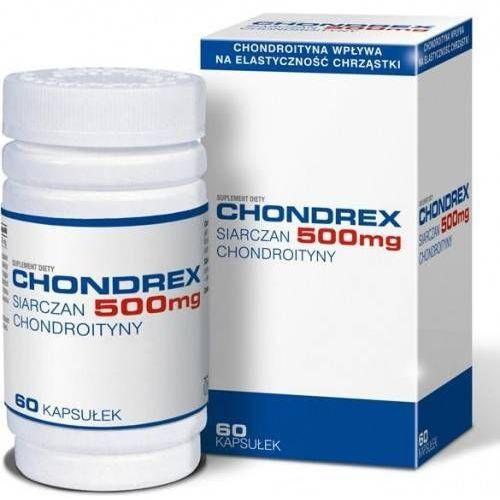 Chondrex 500 mg kaps. - 60 kaps. (kapsułki)