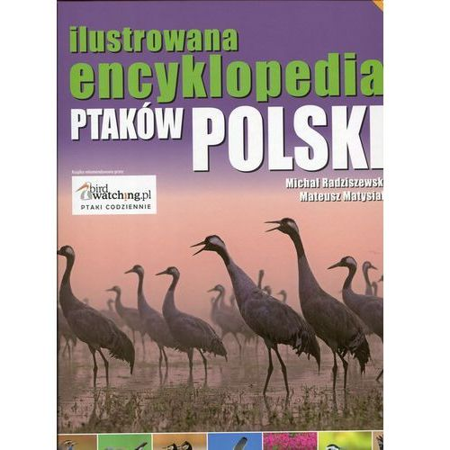 Ilustrowana encyklopedia ptaków Polski, oprawa twarda