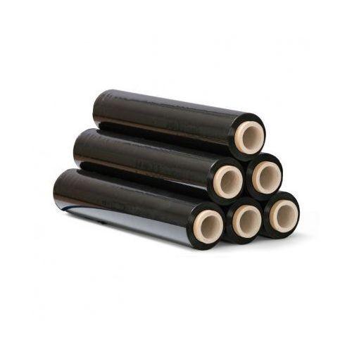 Folia stretch czarna, 20 mic, 500 mm x 300 m, 6 szt.