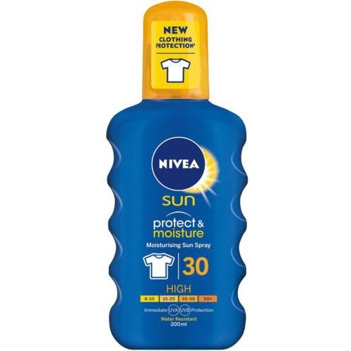 Nivea Sun Protect & Moisture spray nawilżający do opalania SPF 30 200 ml (5025970022840)