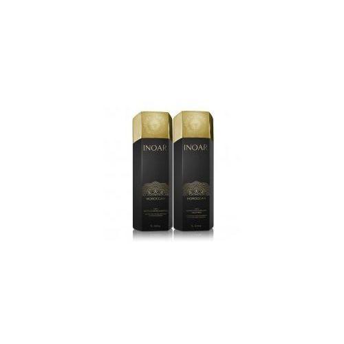 Inoar keratyna do prostowania 1000ml + szampon oczyszczający 1000ml