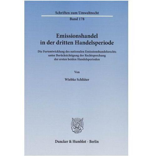 Emissionshandel in der dritten Handelsperiode