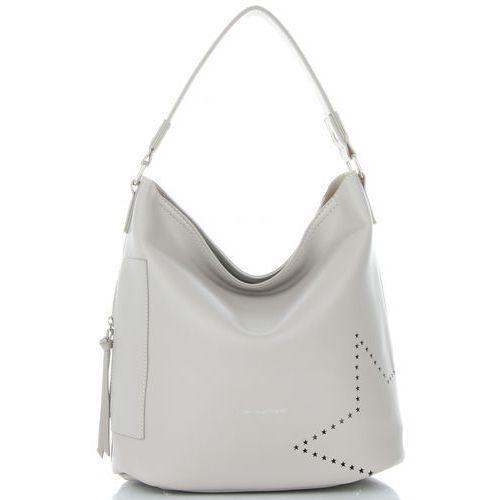 a2fc26cf modne i firmowe torebki damskie w rozmiarze xl z kosmetyczką jasno szara  (kolory) marki David jones 125,00 zł Pojemna, stylowa, uniwersalna - oto  torebka ...