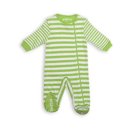Juddlies pajacyk greenery stripe 3-6 m