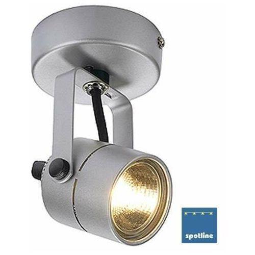 Spotline Kinkiet lampa oprawa ścienna spot 79 1x50w gu10 srebrnoszary qpar51 132024 wyprzedaż!!!