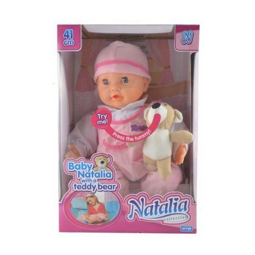 Idealna dla dziewczynki fajna reklamowana lalka Natalia z misiem BABY BORN - sprawdź w dzieckoity24.pl