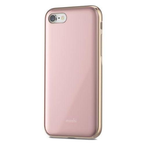 Moshi iGlaze - Etui iPhone 8 / 7 (Taupe Pink), kolor różowy