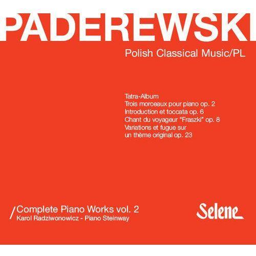 Paderewski: Complete Piano Works Vol.2 - Radziwonowicz Karol (Płyta CD)