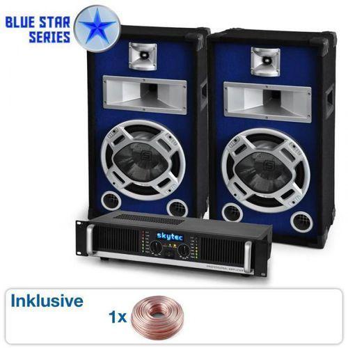 """Zestaw nagłośnieniowy blue star """"beatbass i"""" 800 w marki Elektronik-star"""