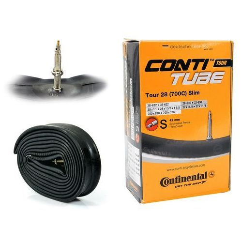 "Continental Co0181511 dętka tour 26'' oraz 27,5"" x 1,4'' - 1,75'' wentyl dunlop 40 mm"