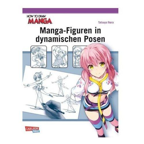Manga-Figuren in dynamischen Posen