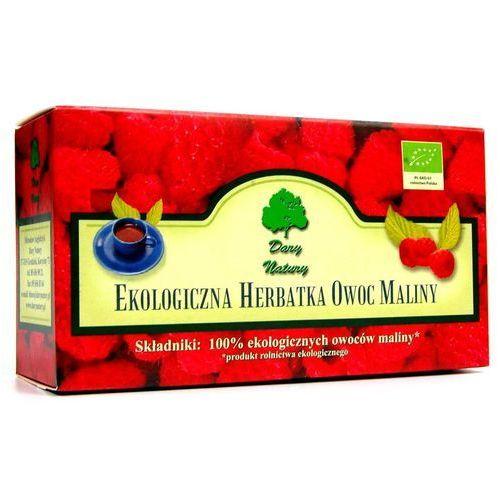 Malina owoc - herbata ekspresowa marki Dary natury